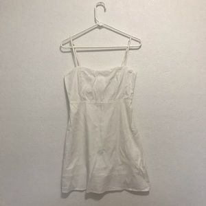 Brand Melville Karla white dress